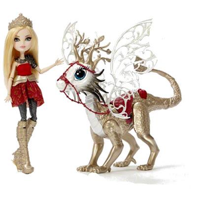 TOYS : JUGUETES - EVER AFTER HIGH : Dragon Games  Apple White & Dragon Rider | Muñeca - doll  Producto Oficial 2015 | Mattel | A partir de 6 años Comprar en Amazon España & buy Amazon USA