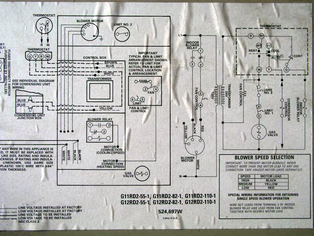 2003 10 25_lennox_g12_5 wiring diagram for lennox gas furnace the wiring diagram lennox gas furnace wiring diagram at mifinder.co