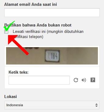 buktikan bahwa anda bukan robot