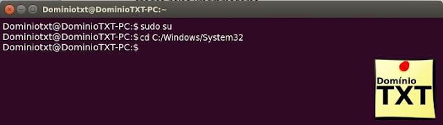 DominioTXT - Terminal Ubuntu