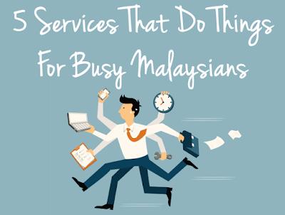 5 Perkhidmatan Servis Untuk Orang Yang Selalu Sibuk