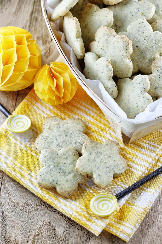 Sablés Pavot Citron Vanille