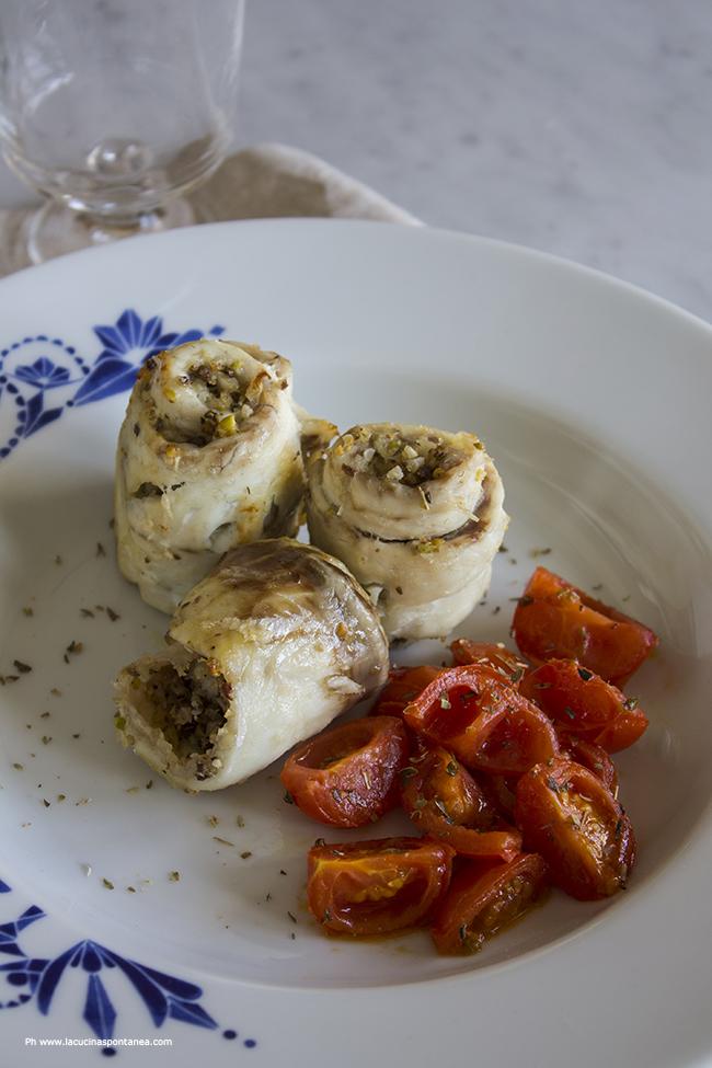taste&more n. 14: turbante di spigola con pistacchi e olive nere