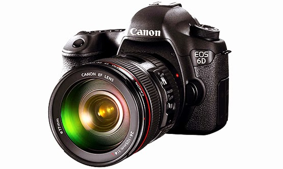 Harga dan Spesifikasi Kamera Canon EOS 6D Terbaru 2014