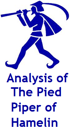 Literary analysis of the pied piper of hamelin