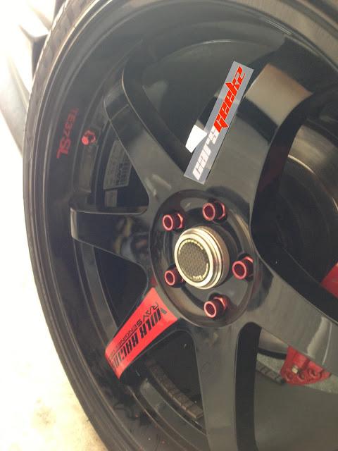 TE37SL RED + Spec + Jawa - SIZE 19x10 J