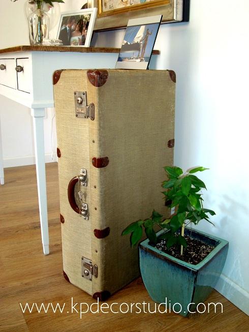 Kp tienda vintage online maleta de viaje antigua ref m16 for Maletas vintage decoracion