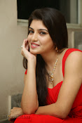 Priyadarshini Glam Pics in Red at Dillunnodu audio-thumbnail-9