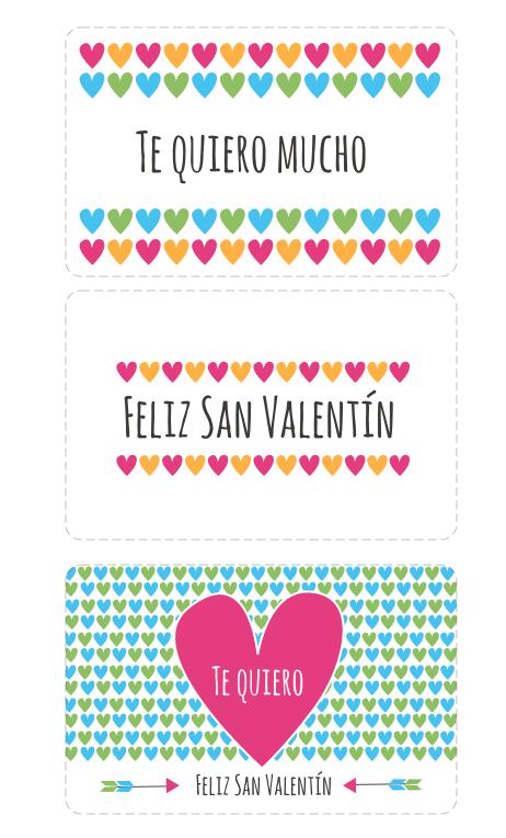 Tarjetas de amor para imprimir gratis Las Manualidades