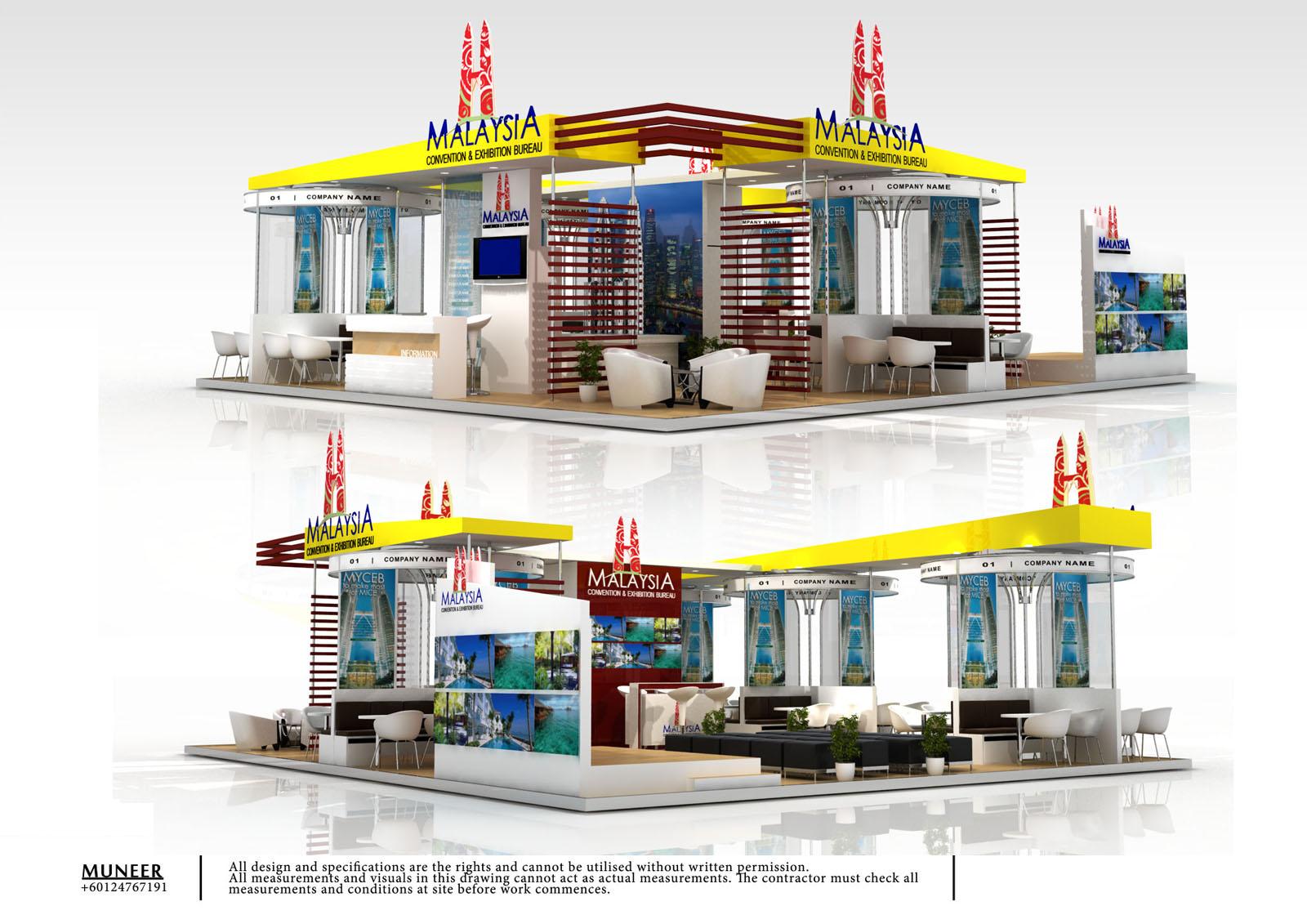 Freelance Exhibition Design Malaysia Imex 2011
