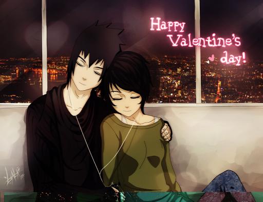 Sasuke Uchiha Valentine Day
