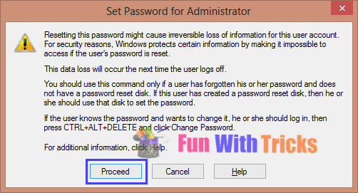 Change Admin Password From User Mode_FunWidTricks.Com