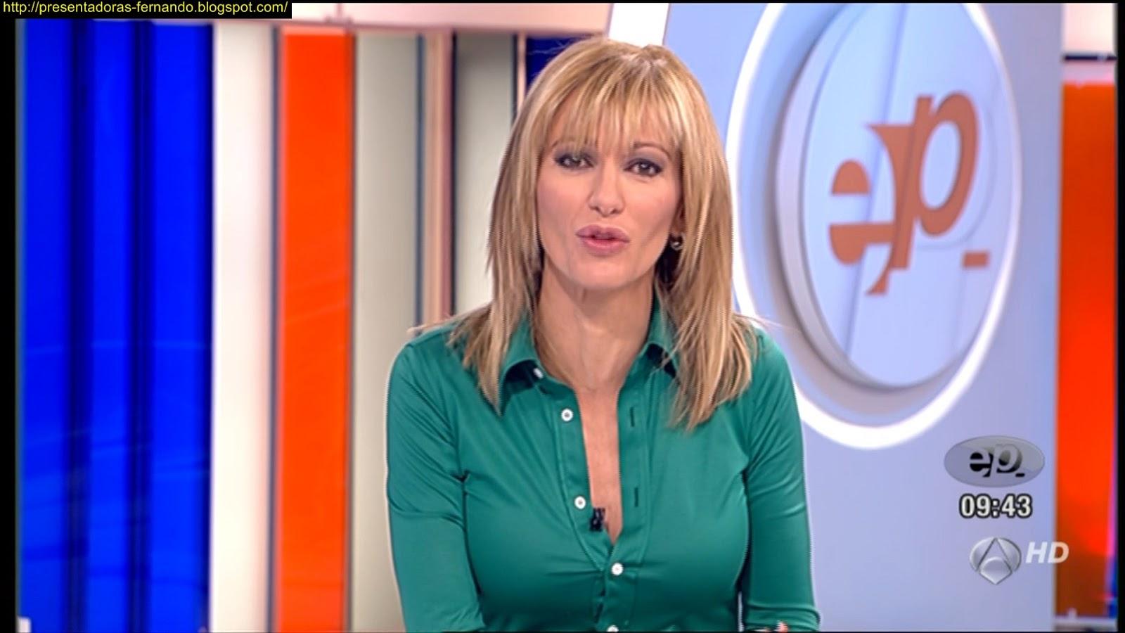 Presentadoras fernando susana griso espejo publico 7 11 2012 for Espejo publico verano
