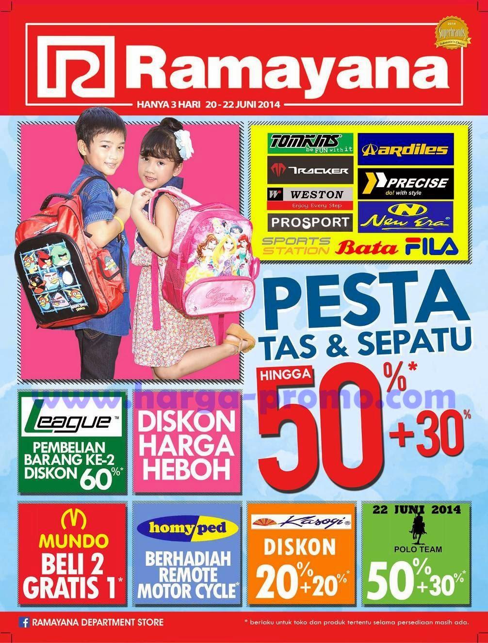 Promo Ramayana Department Store Akhir Pekan Periode 20 22 Juni