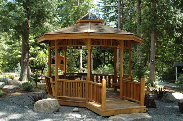 create comfortable gazebo