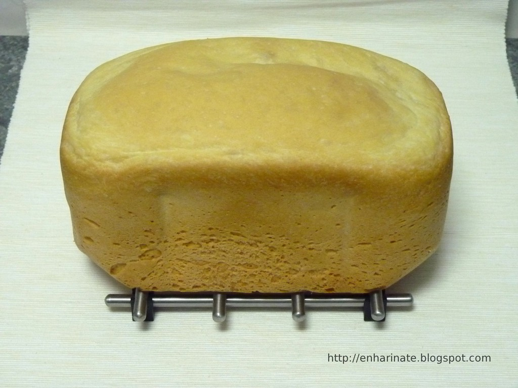 Pan en panificadora o en horno EnHarinate