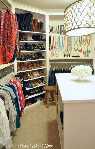 "Honey We'Re Home: Organized ""Boutique"" Closet"