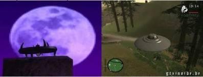 Ufo di gta san andreas bisa dibilang hanyalah mod belaka tapi ada