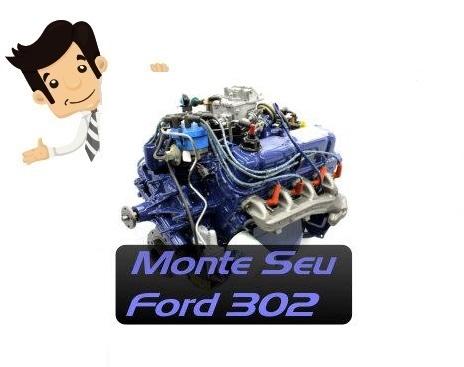 Curso Online Monte Seu Ford 302 V8 - Hot Rodders