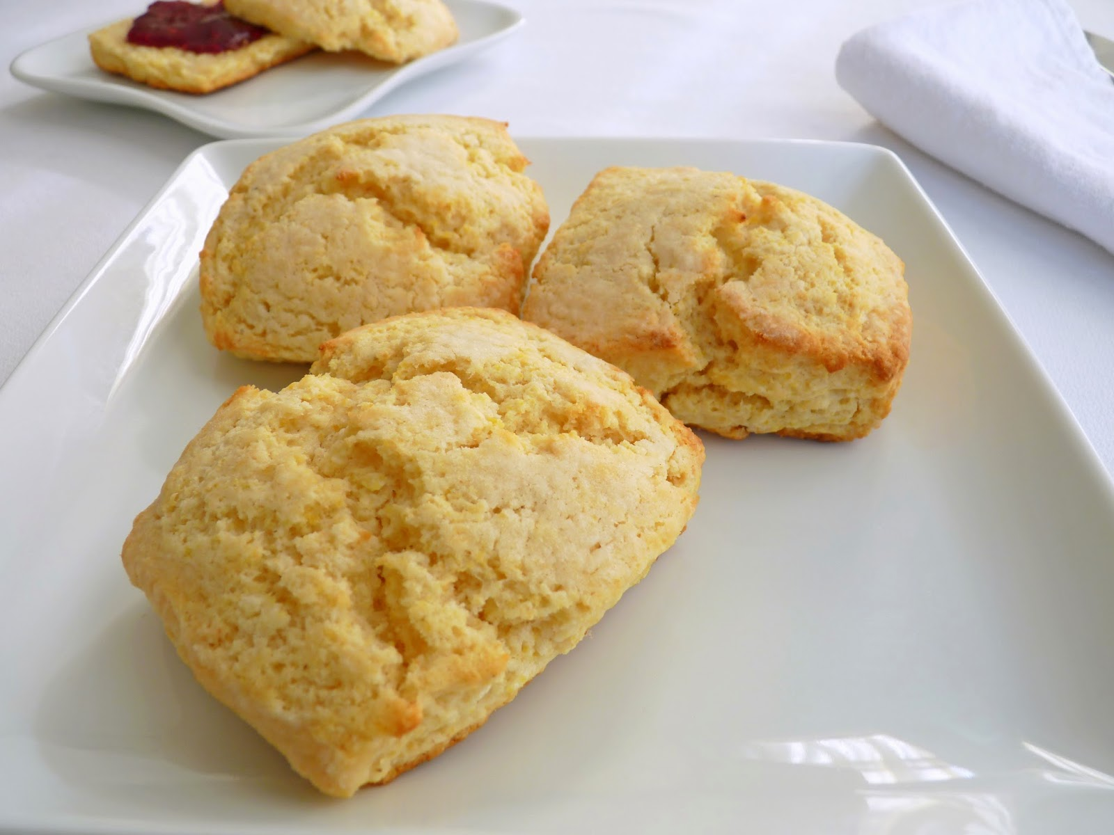 cornmeal scones buttermilk