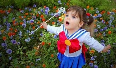 Cosplay Sailor Moon Criança