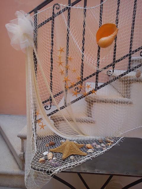 Mareventi wedding planner ravenna allestimenti floreali - Rete da pesca per decorazioni ...