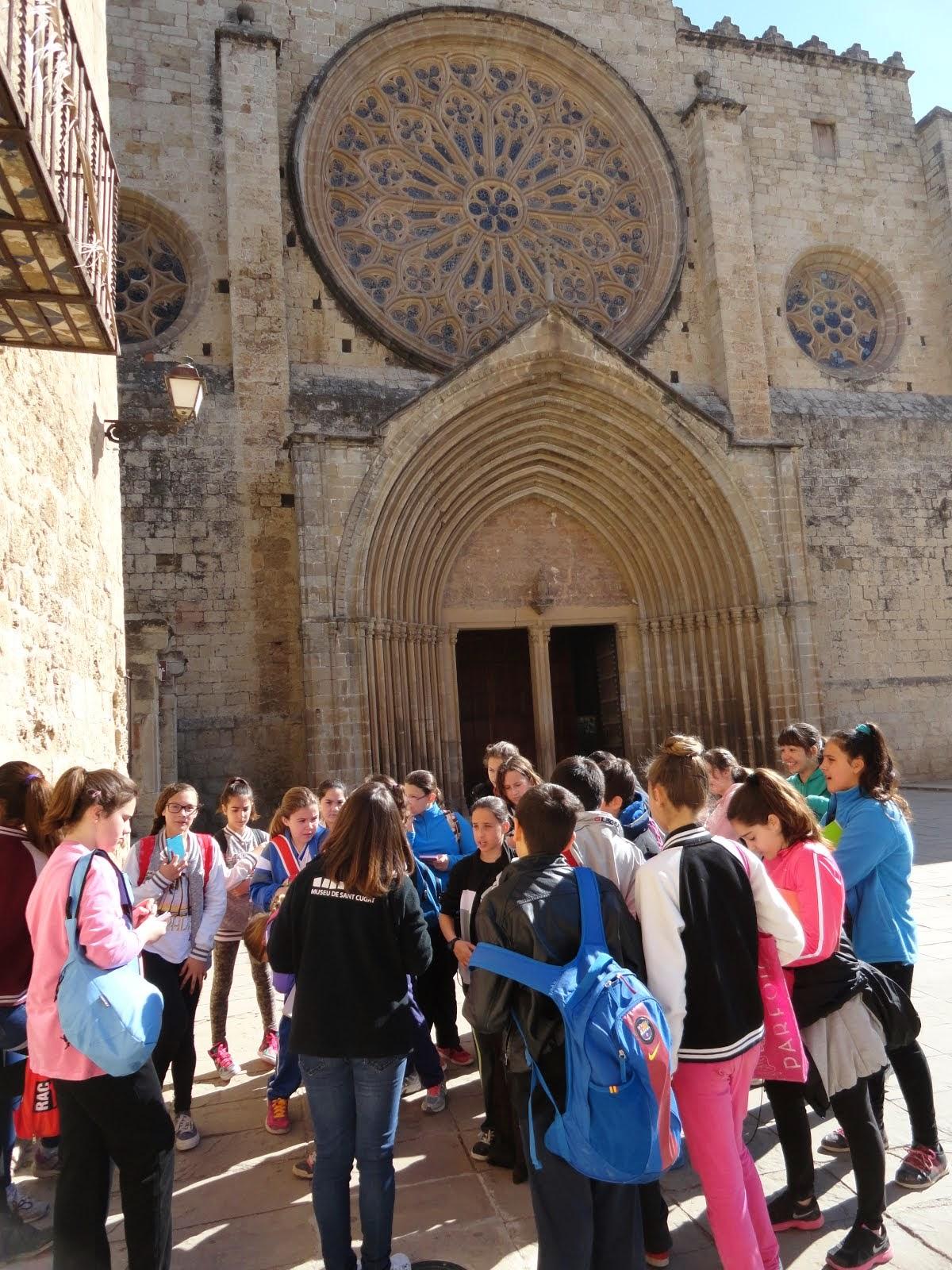 Visita a Sant Cugat