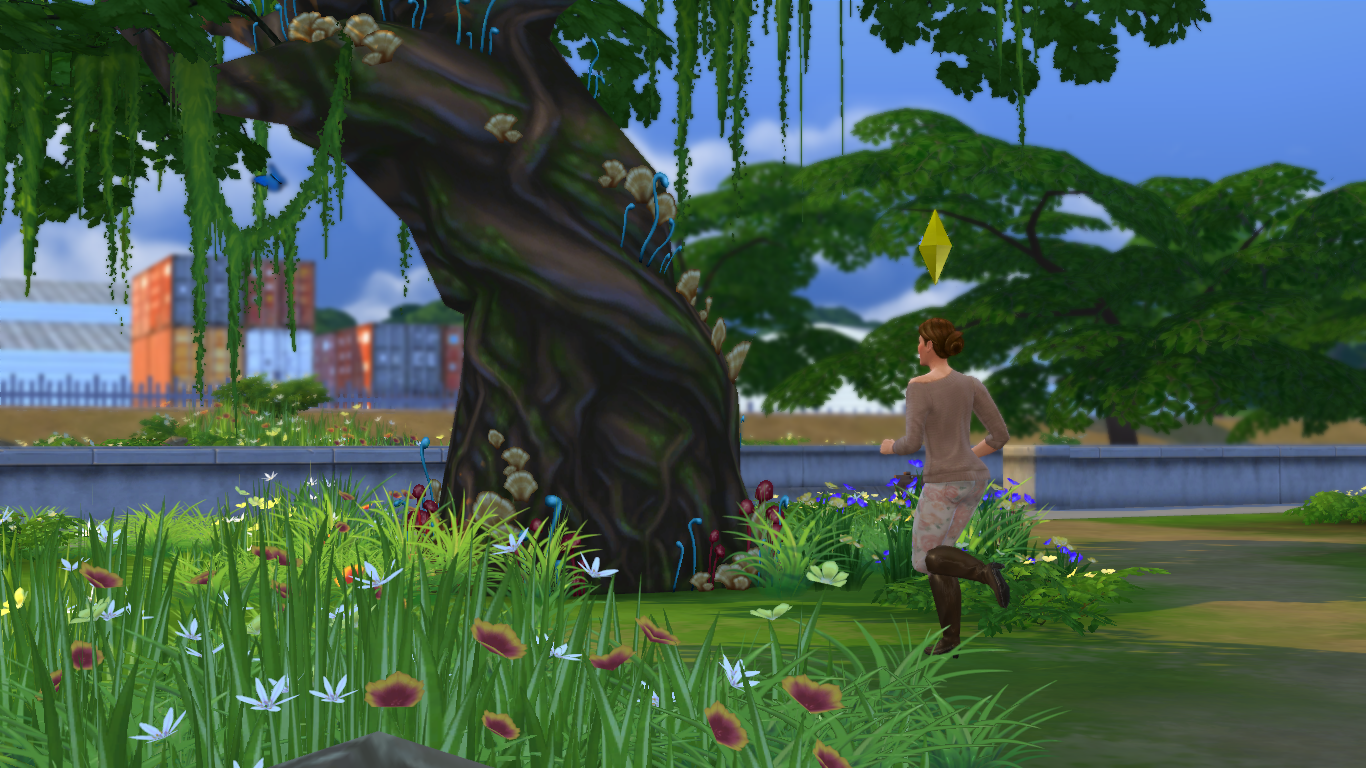 """Guía Sims 4: Desbloquear La """"Gruta Olvidada"""" y El """"Claro Silvestre"""" 11-09-2014_13-52"""