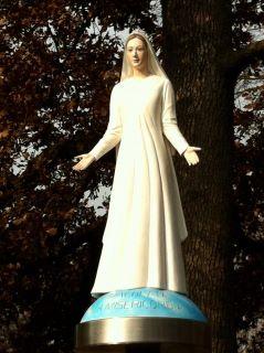 la nostra Statua dell'Immacolata - TOTUS TUUS MAMMA