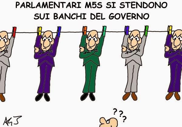 M5S, sbloccaitalia, governo, satira
