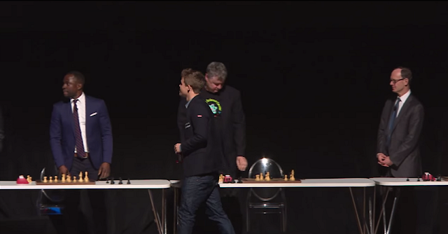 Los contrincantes de Magnus Carlsen.