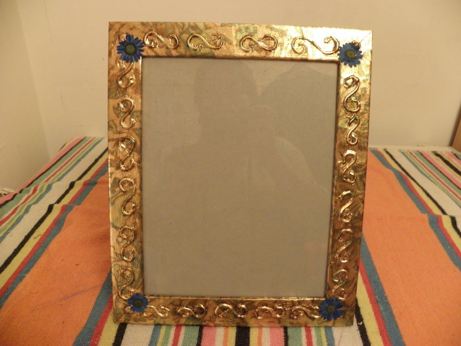 Manualidades marcos espejos imagui - Marcos fotos manualidades ...