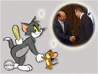 Victor Ponta Traian Băsescu funny photo Tom and Jerry