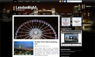 London Night WordPress Theme
