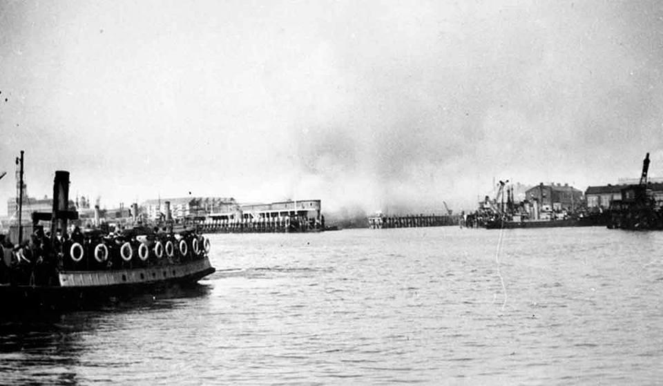 Air Raid in 1940