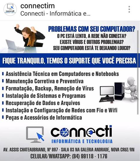 Connecti - Informática e Tecnologia