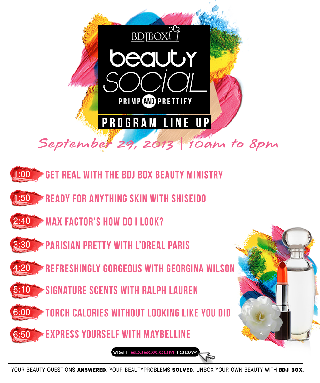 BDJ Box Beauty Social