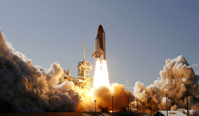 Beehive Messages - Space Shuttle Discovery Launch