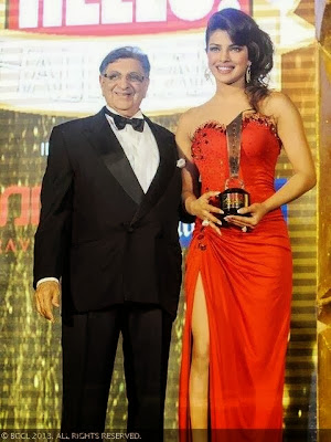 Priyanka Chopra received the 'Global Face of the Year' award