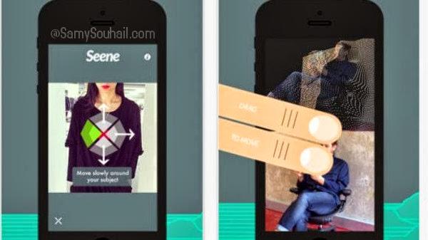 تطبيق Seene لإلتقاط صور تلاثية الأبعاد 3D لهواتف آيفون والآيباد