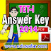 Provisional Answerkey TET-I  2014  Declared
