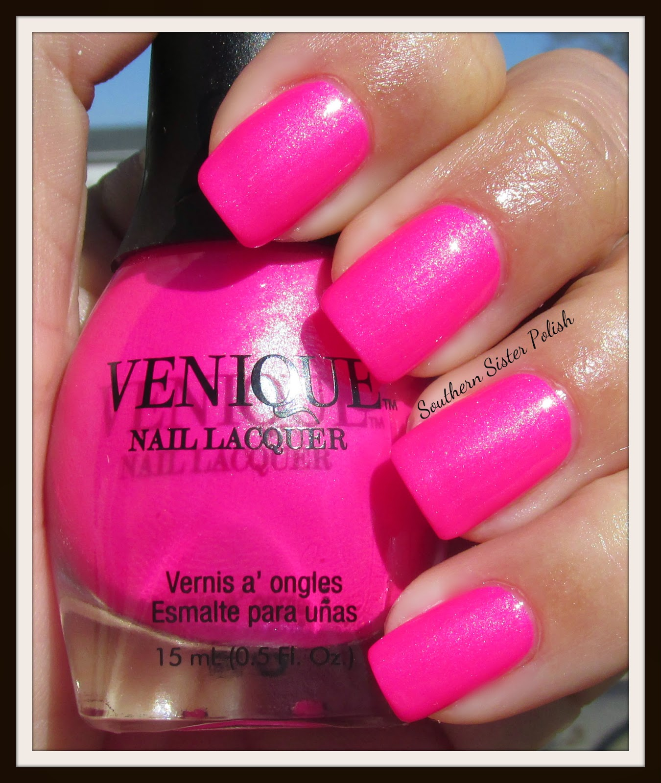 Venique Nail Lacquer Swatch And Review