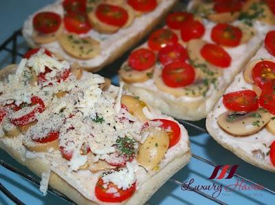 how to make prego carbonara mushroom bruschetta
