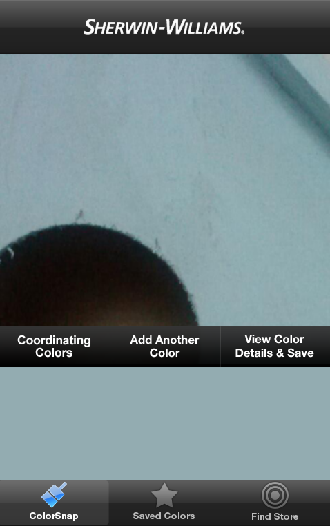 Coordinating Colors on Color Snap App