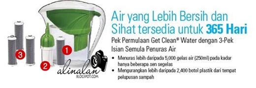 Get Clean Water Pitcher Shaklee Jug Portable yang sangat berpatutan harganya!!! Dapatkan sekarang & nikmati air yg bersih setiap hari