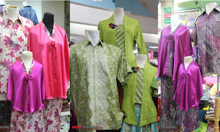 Foto Baju Batik Couple Thamrin City