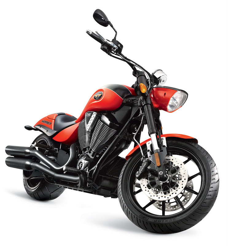 2011 Victory Hammer S Muscle Cruisers