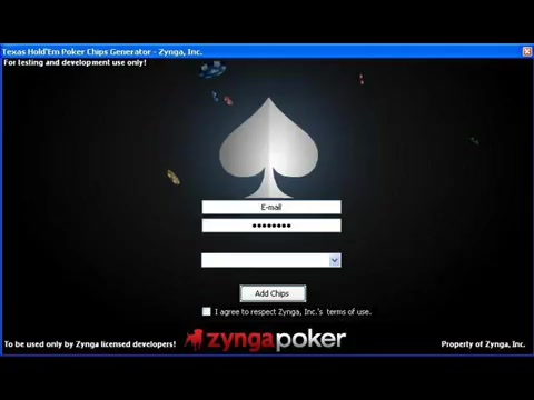 Hack zynga poker chips online 2018 without survey