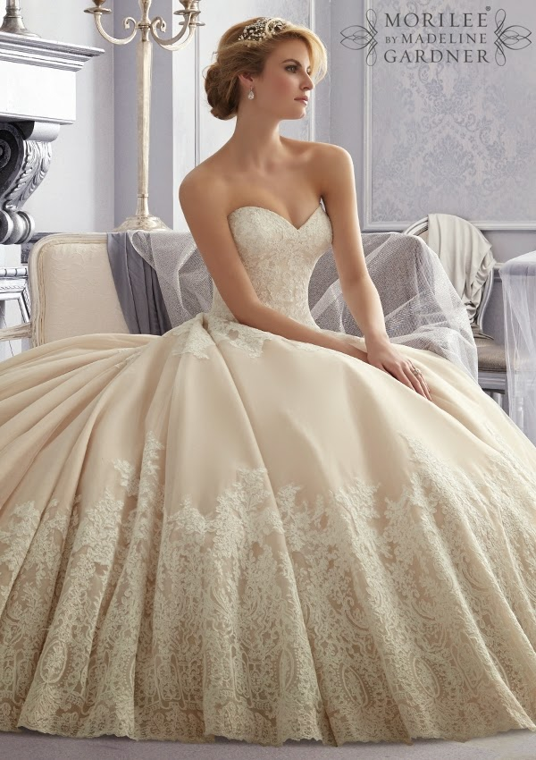 Mori lee by madeline gardner fall 2014 part 1 belle for Mori lee wedding dresses