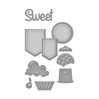SBS2-202 Spellbinders D-Lites - Sweet Set